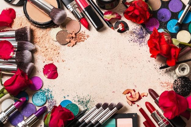 Produkty do makijażu Premium Zdjęcia