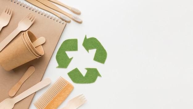 Produkty Ekologiczne Z Miejscem Do Kopiowania Darmowe Zdjęcia