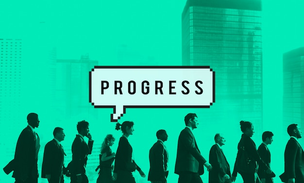 Progress Progression Progressive Developement Concept Darmowe Zdjęcia