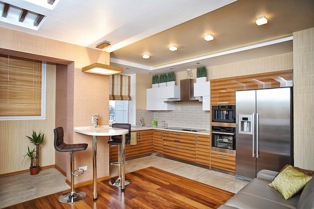 Projektowanie Wnętrz Kuchni Premium Zdjęcia