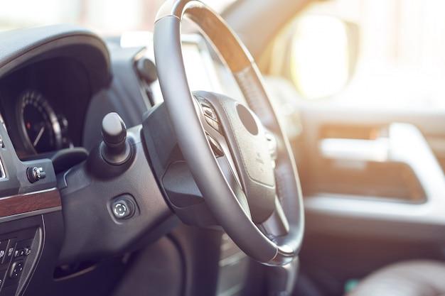 Projektowanie wnętrz nowe auto Premium Zdjęcia