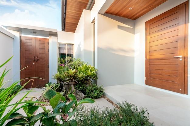 Projektowanie Wnętrz Wejście Do Domu Premium Zdjęcia