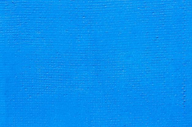 Prosta, pomalowana na niebiesko faktura ściany Darmowe Zdjęcia