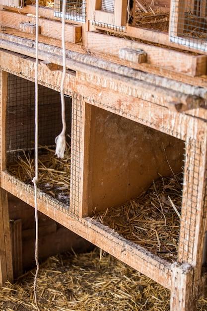 Przechowywanie Haystacks W Gospodarstwie Hayloft Premium Zdjęcia