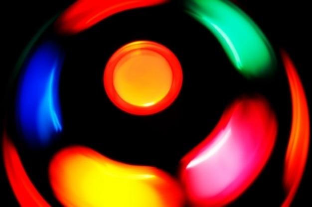 Przędzenia lampę dyskotekową Darmowe Zdjęcia