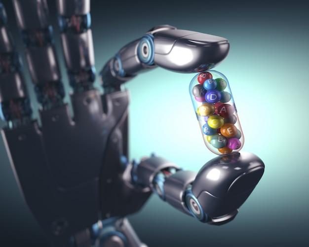 Przemysł tabletek multiwitaminowych Premium Zdjęcia