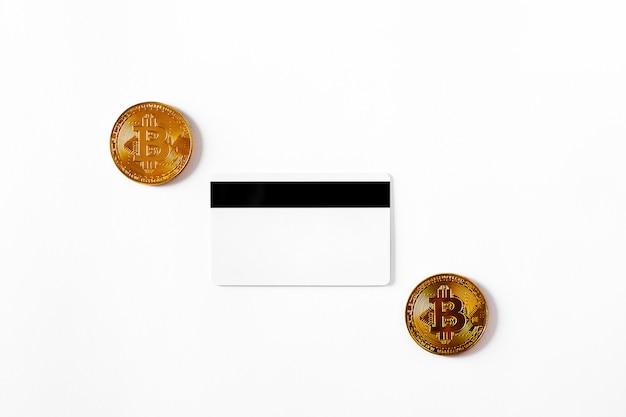 Przeniesienie Dolara Z Portfela Na Bitcoin Na Smartfonie. Blockchain. Premium Zdjęcia