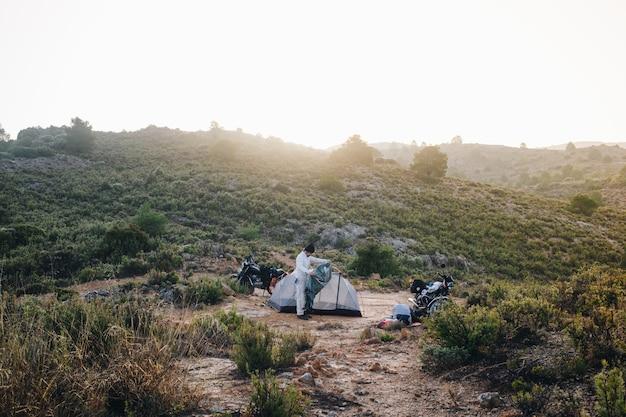 Przygoda Motocyklista Na Dziko Darmowe Zdjęcia