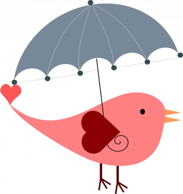 Ptak Parasol Lato Wiosna Wielkanoc Ochrona Zdjęcie Darmowe
