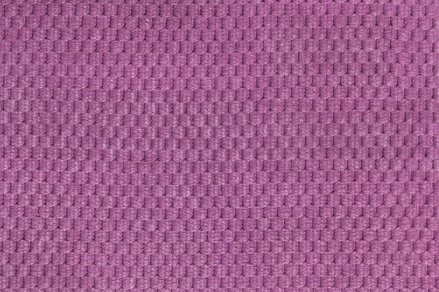 Purpurowy tło od miękkiego wełnistego tkaniny zbliżenia Premium Zdjęcia