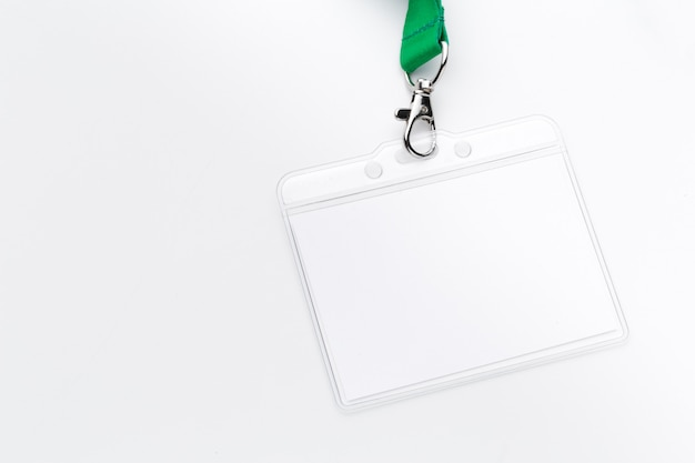 Pusta makieta bagde Premium Zdjęcia
