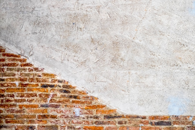 Puste stare ceglane ściany tekstury. Premium Zdjęcia