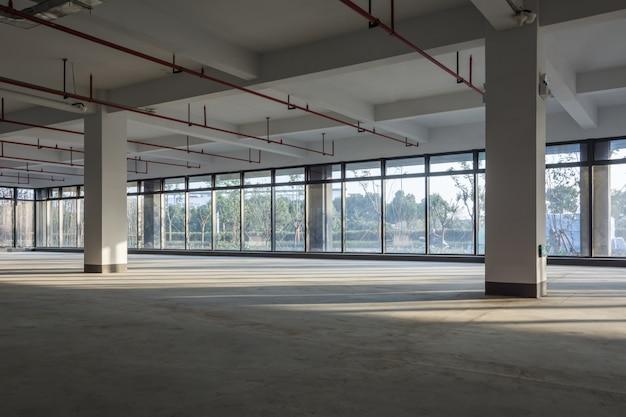 Pusty obszar w budynku biznesowym Premium Zdjęcia