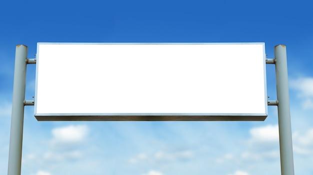 Pusty Znak Pokładzie Premium Zdjęcia