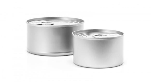 Puszka do konserwowania produktów spożywczych Premium Zdjęcia