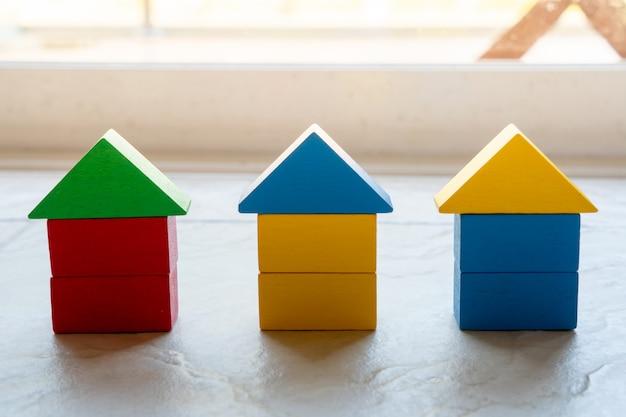 Puzzle House Puzzle Dla Koncepcji Globalnego Biznesu Premium Zdjęcia