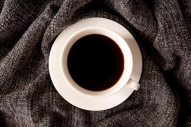 Pyszna filiżanka czarnej kawy Darmowe Zdjęcia