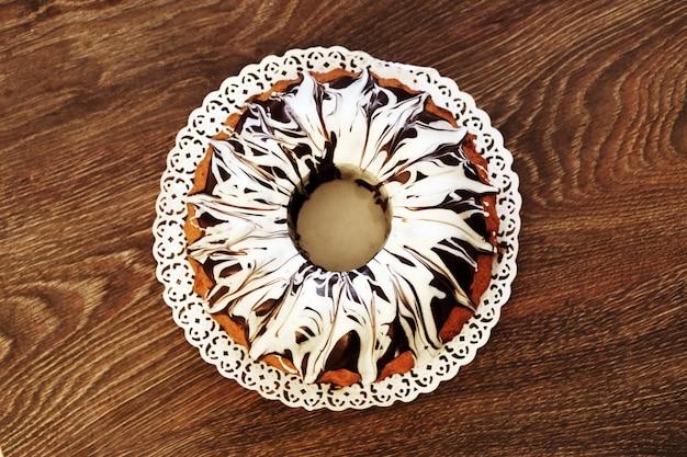 Pyszne ciasto z czekoladą Darmowe Zdjęcia