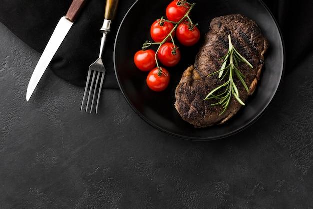 Pyszny Gotowany Stek Gotowy Do Podania Darmowe Zdjęcia