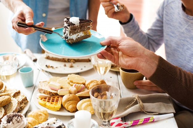 Pyszny tort urodzinowy Darmowe Zdjęcia