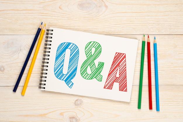 Pytania I Odpowiedzi, Koncepcja Pytań I Odpowiedzi Premium Zdjęcia
