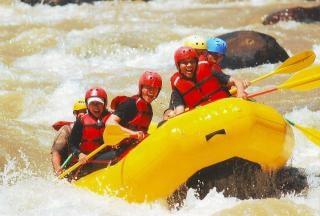 Rafting, ludzie Darmowe Zdjęcia