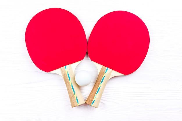 Rakiety do tenisa stołowego Premium Zdjęcia