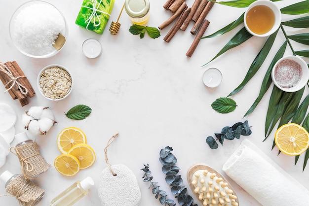 Rama Kosmetyków Naturalnych Na Biurku Darmowe Zdjęcia