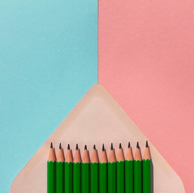 Rama Ołówków W Kopercie Darmowe Zdjęcia