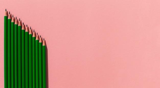 Rama Ołówków Z Miejsca Na Kopię Darmowe Zdjęcia