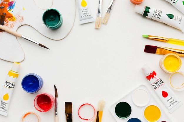 Rama Przedmiotów Pracowni Artystycznej Premium Zdjęcia