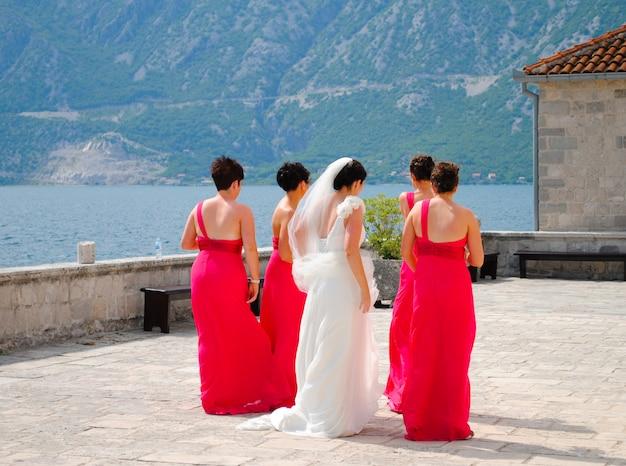 Raportowanie - ślub Czarnogóry Premium Zdjęcia