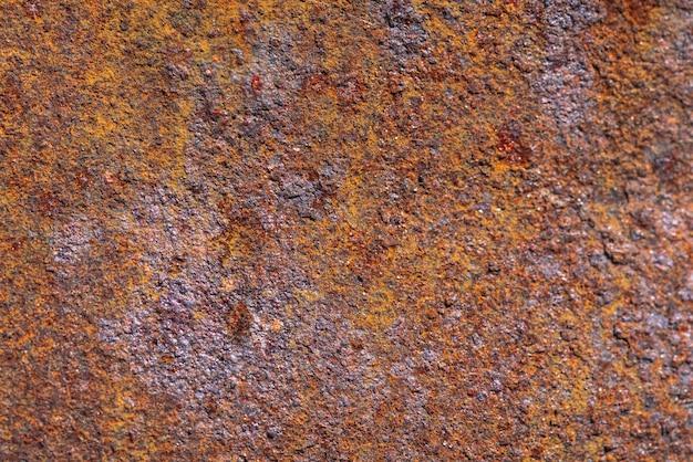 Rdza na powierzchni metalicznej Premium Zdjęcia