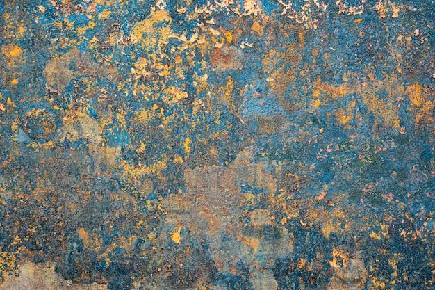 Rdza z żelaznej ściany Premium Zdjęcia
