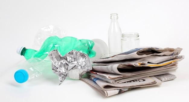 Recykling śmieci I Odpadów Wielokrotnego Użytku Premium Zdjęcia