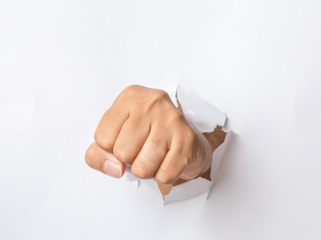 Ręczne przebijanie papieru Premium Zdjęcia