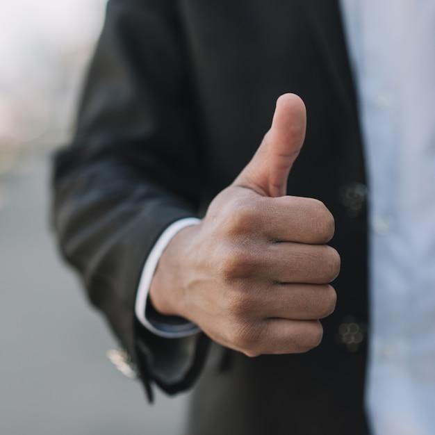 Ręka Pokazuje Aprobaty Zamyka Up Darmowe Zdjęcia
