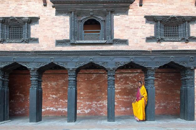 Religijna Strona Nepalu Premium Zdjęcia