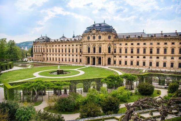 Rezydencja wurzburg w würzburgu w niemczech Premium Zdjęcia