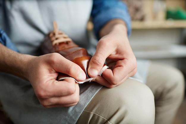 Robienie butów Darmowe Zdjęcia