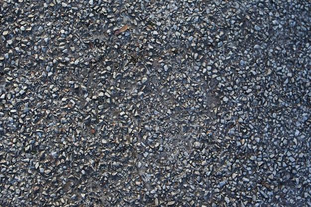 Rock Tekstura Tło. Stara Podłoga Cement. Wzór Asfaltu Premium Zdjęcia