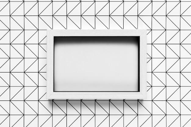Rocznik rama z deseniowym tło egzaminem próbnym Darmowe Zdjęcia