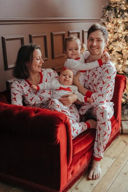 Rodzina Na Boże Narodzenie Darmowe Zdjęcia