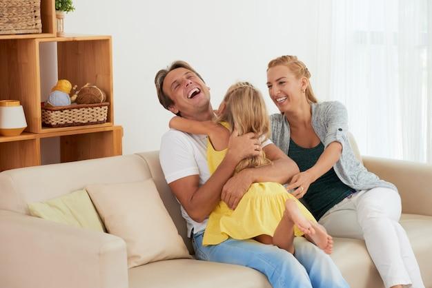 Rodzinna zabawa Darmowe Zdjęcia