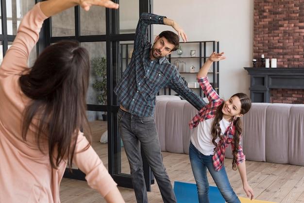 Rodzinny Trening Jogi Darmowe Zdjęcia