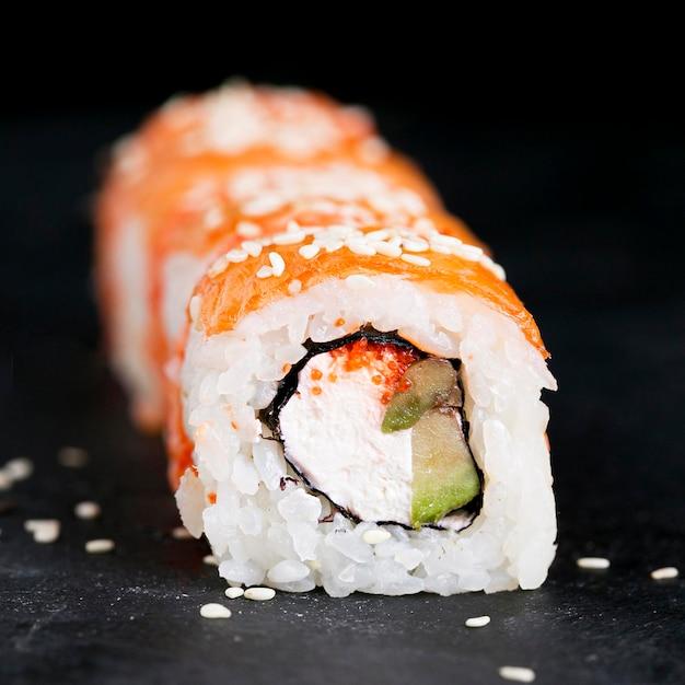 Rolki Sushi Wyrównane Darmowe Zdjęcia