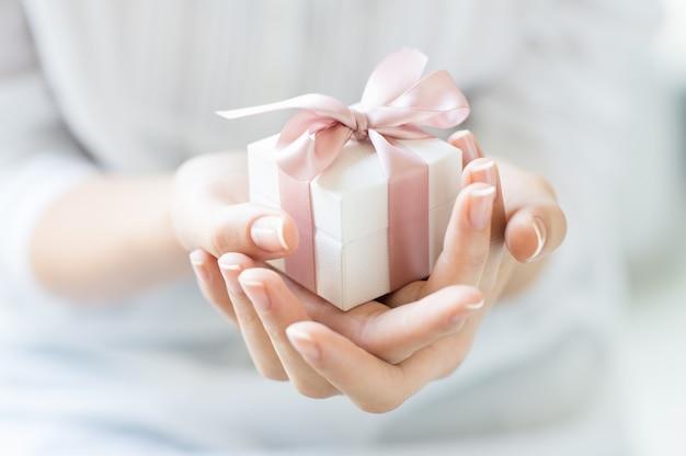Romantyczne Pudełko Premium Zdjęcia