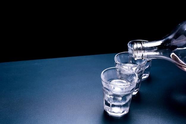 Rosyjski tło wódki Darmowe Zdjęcia