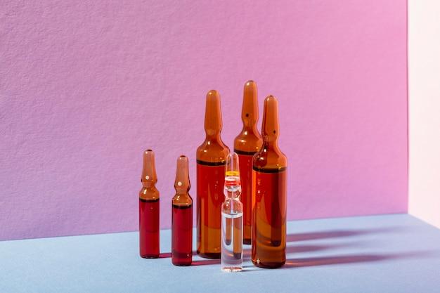 Rozmieszczenie Fiolek Z Lekami Darmowe Zdjęcia