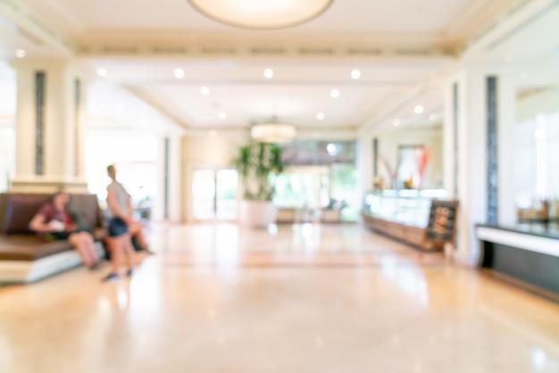 Rozmycie Lobby Luksusowego Hotelu Premium Zdjęcia